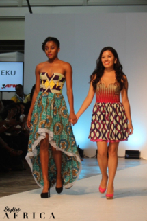 AimeeKu Africa Fashion Week London
