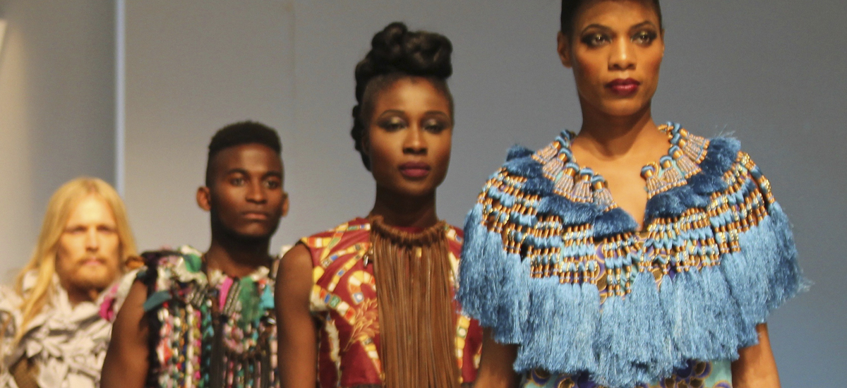 Aaugust Catwalk- Africa Fashion Week London